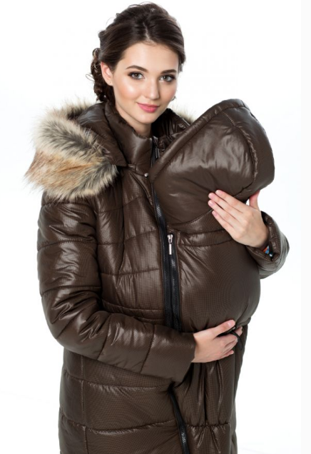 Зимняя куртка для беременных 3 в 1 32